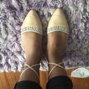 Franco Sarto lace up sandals